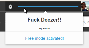 how to get a no limit access to Deezer